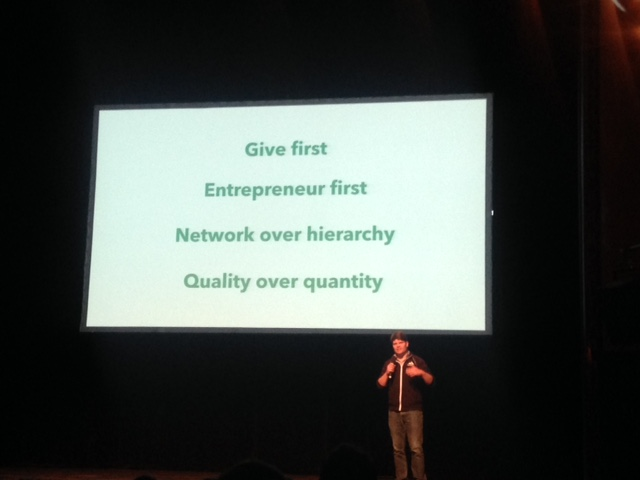 Techstars principles